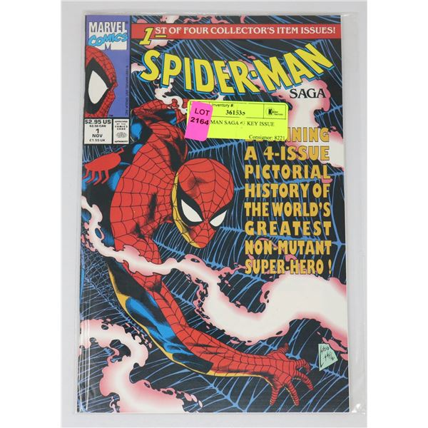 SPIDER-MAN SAGA #1 KEY ISSUE
