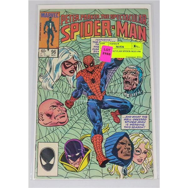 THE SPECTACULAR SPIDER-MAN #96