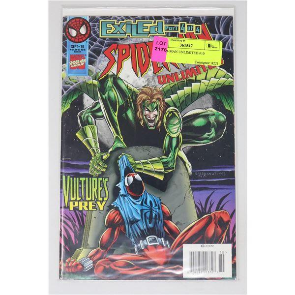 SPIDER-MAN UNLIMITED #10