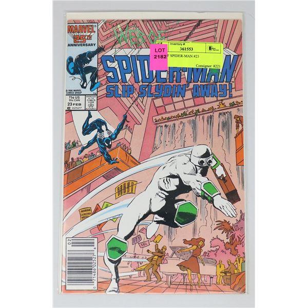 WEB OF SPIDER-MAN #23
