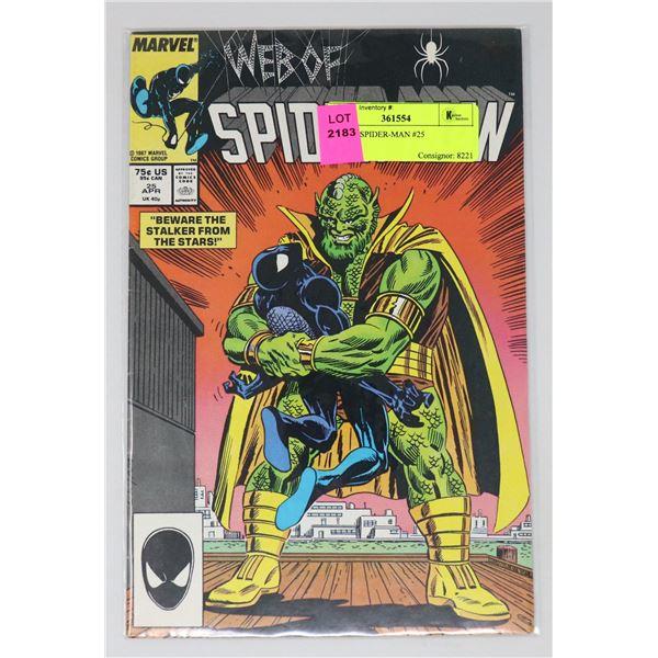 WEB OF SPIDER-MAN #25
