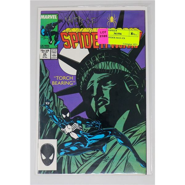 WEB OF SPIDER-MAN #28