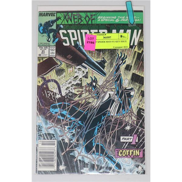 WEB OF SPIDER-MAN #31 KEY ISSUE
