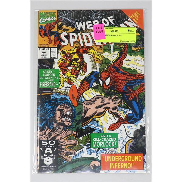 WEB OF SPIDER-MAN #77