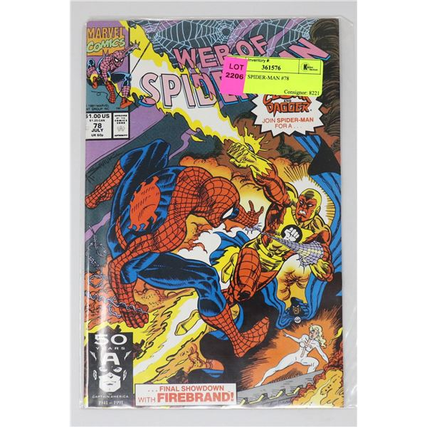 WEB OF SPIDER-MAN #78