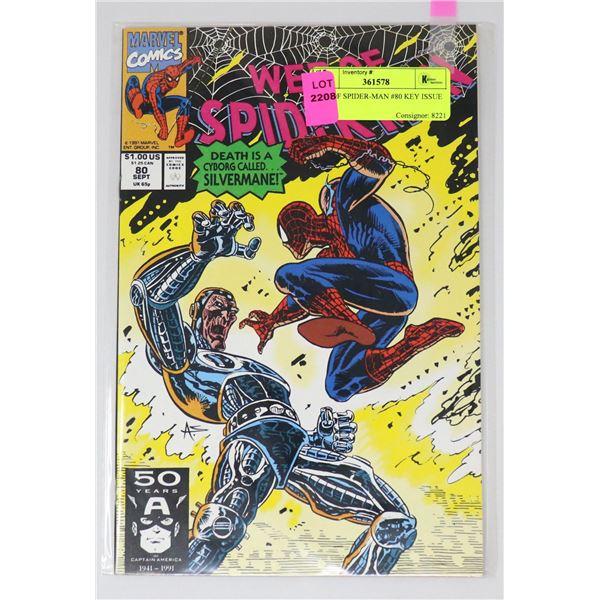 WEB OF SPIDER-MAN #80 KEY ISSUE