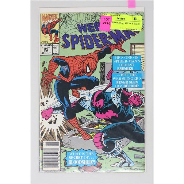 WEB OF SPIDER-MAN #81 KEY ISSUE