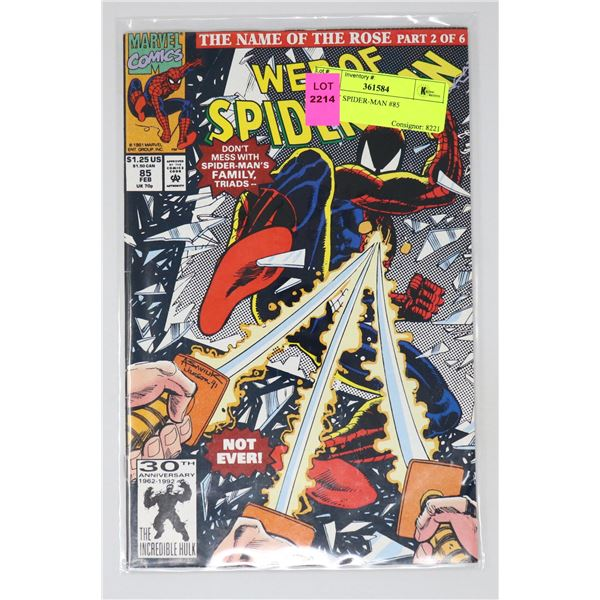 WEB OF SPIDER-MAN #85