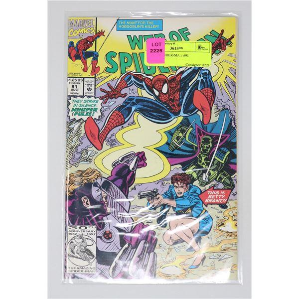 WEB OF SPIDER-MAN #91