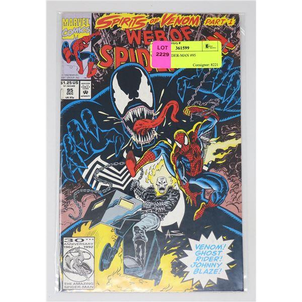 WEB OF SPIDER-MAN #95