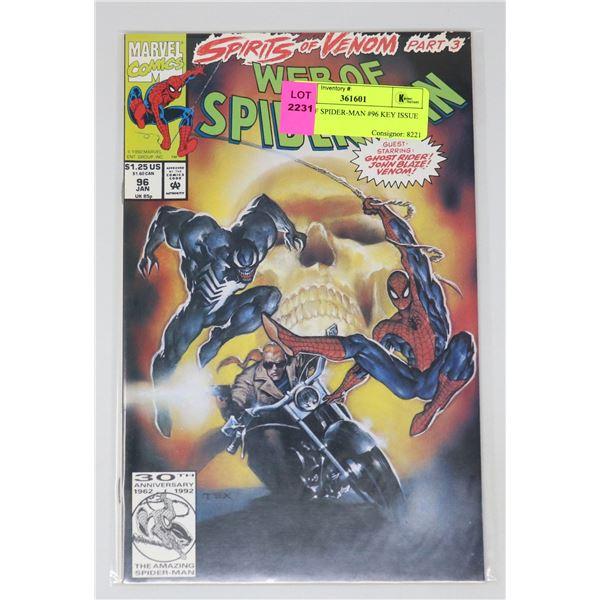 WEB OF SPIDER-MAN #96 KEY ISSUE