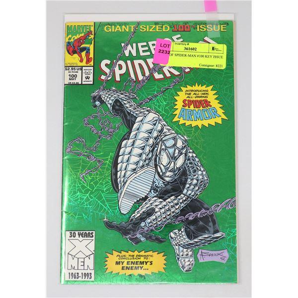 WEB OF SPIDER-MAN #100 KEY ISSUE