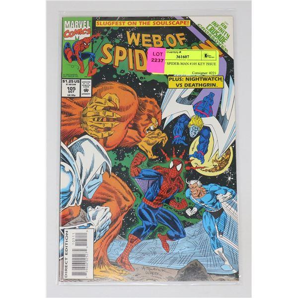 WEB OF SPIDER-MAN #105 KEY ISSUE