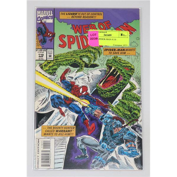 WEB OF SPIDER-MAN #110
