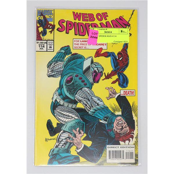 WEB OF SPIDER-MAN #114