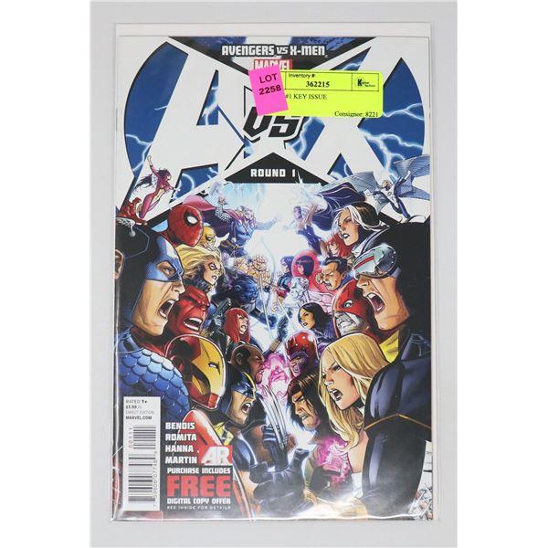 A VS X #1 KEY ISSUE