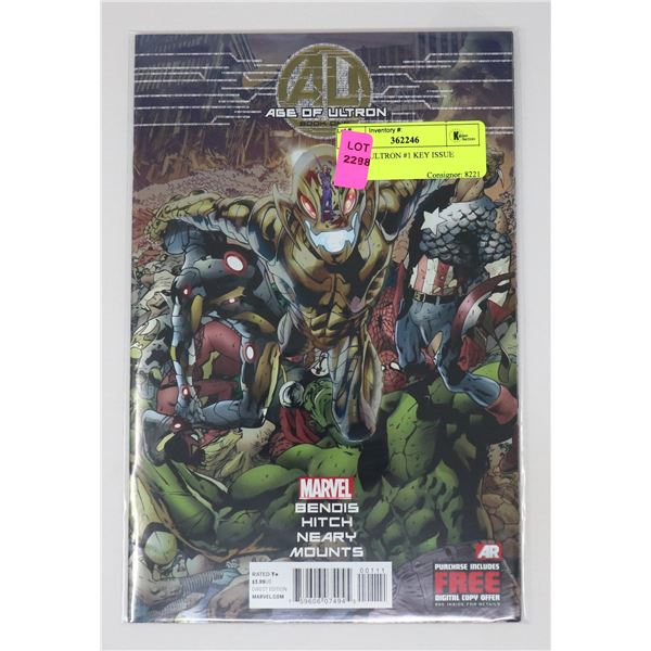 AGE OF ULTRON #1 KEY ISSUE