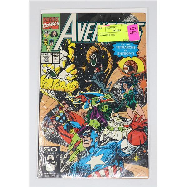 AVENGERS #330