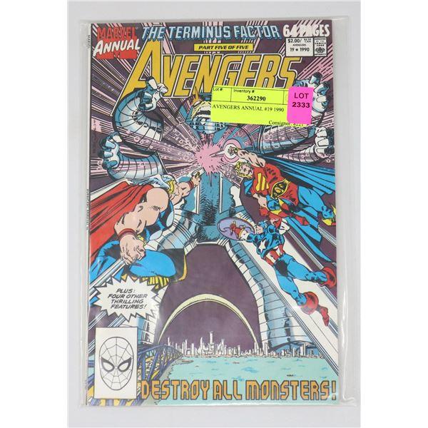 AVENGERS ANNUAL #19 1990