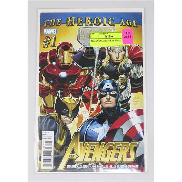 THE AVENGERS #1 KEY ISSUE
