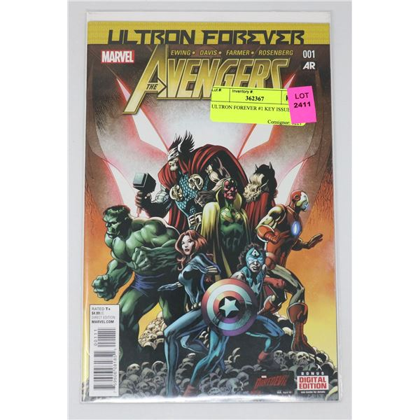 ULTRON FOREVER #1 KEY ISSUE