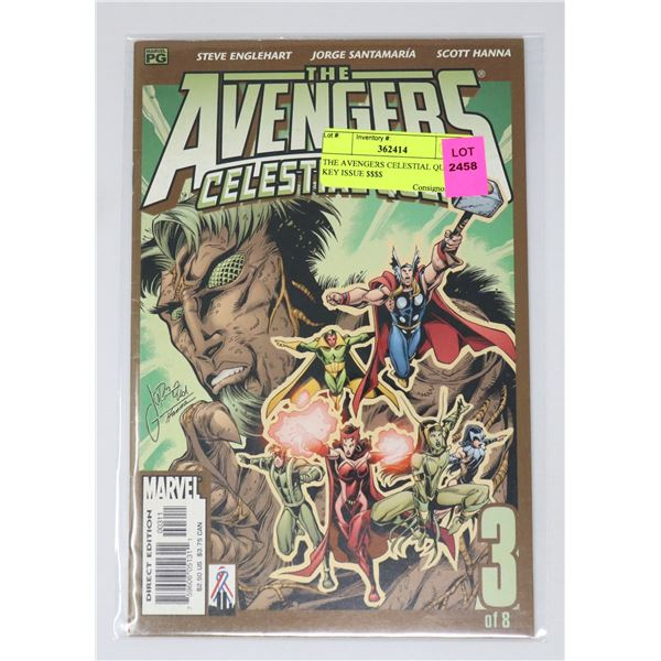 THE AVENGERS CELESTIAL QUEEN KEY ISSUE $$$$
