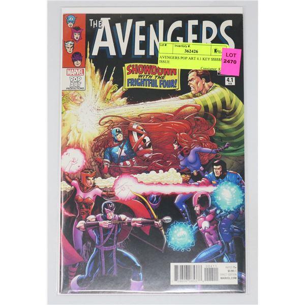 AVENGERS POP ART 4.1 KEY $$$$$$ ISSUE