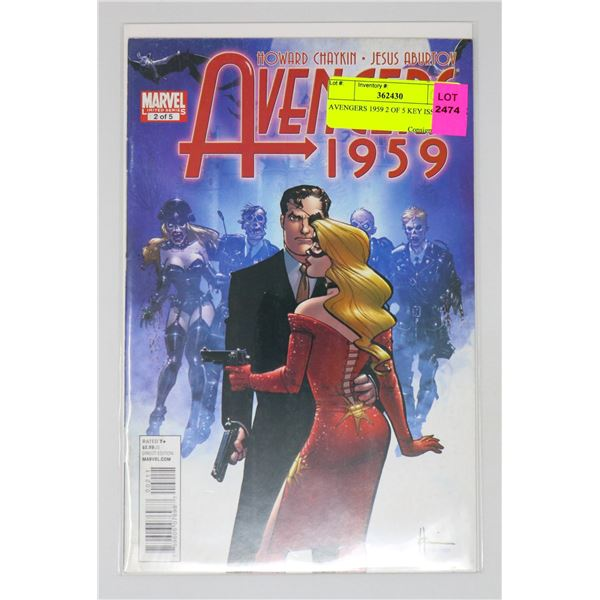 AVENGERS 1959 2 OF 5 KEY ISSUE