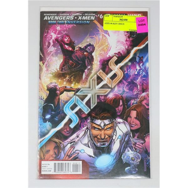 AXIS #6 KEY ISSUE