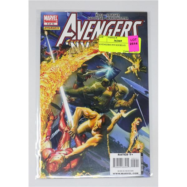 AVENGERS INVADERS #5