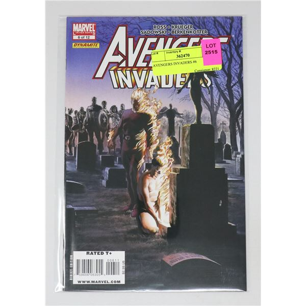 AVENGERS INVADERS #6
