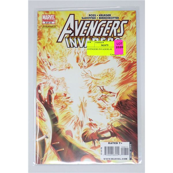 AVENGERS INVADERS #8