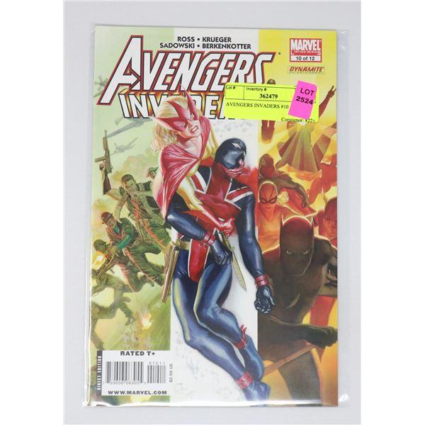AVENGERS INVADERS #10