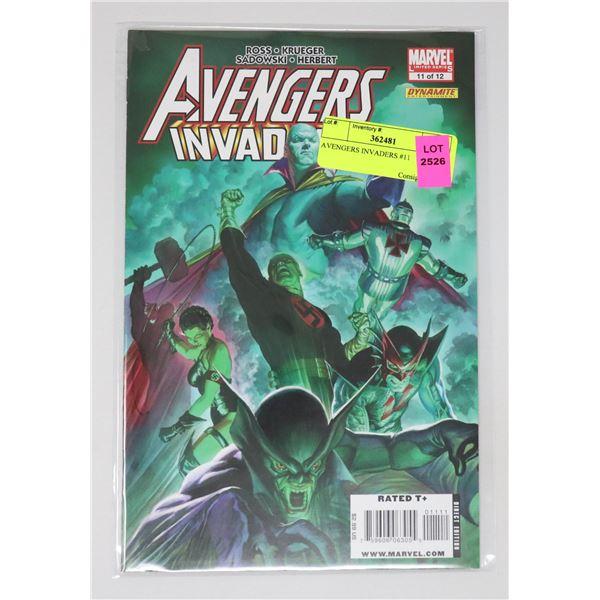 AVENGERS INVADERS #11