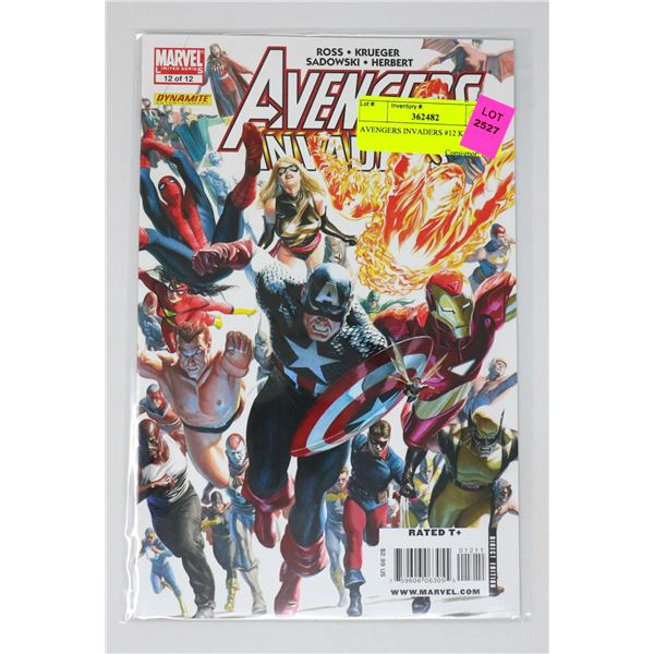 AVENGERS INVADERS #12 KEY ISSUE