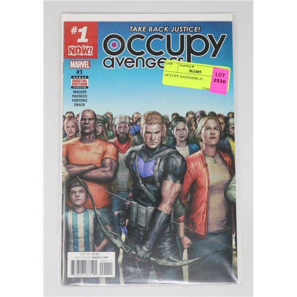 OCCUPY AVENGERS #1