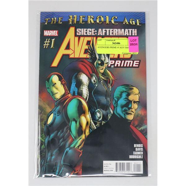 AVENGERS PRIME #1 KEY ISSUE