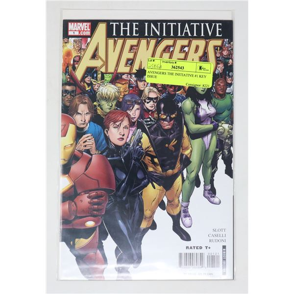AVENGERS THE INITIATIVE #1 KEY ISSUE