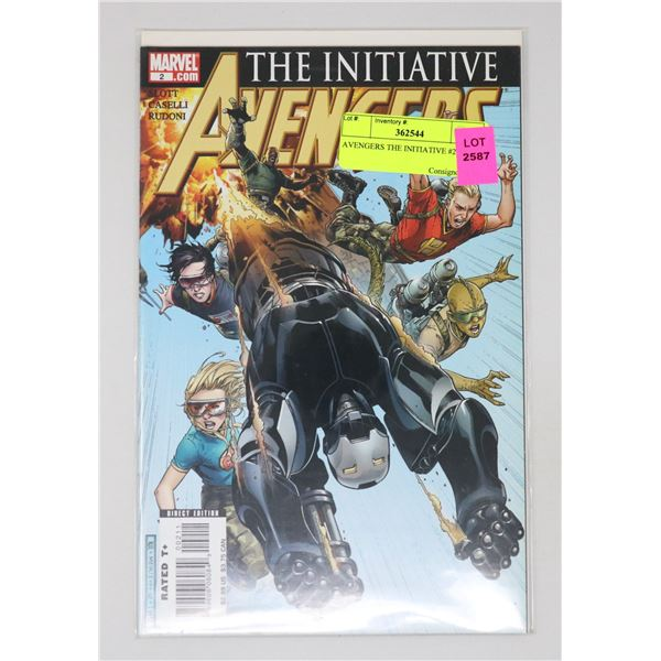 AVENGERS THE INITIATIVE #2