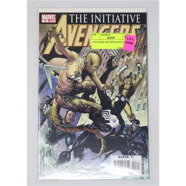 AVENGERS THE INITIATIVE #3