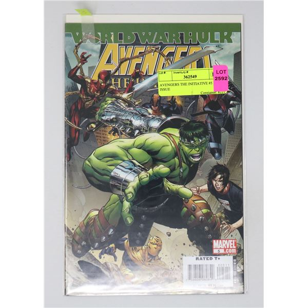 AVENGERS THE INITIATIVE #5 KEY ISSUE