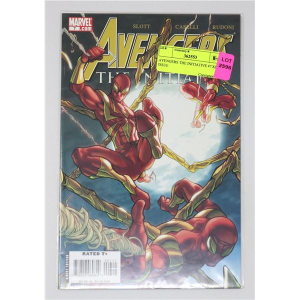 AVENGERS THE INITIATIVE #7 KEY ISSUE