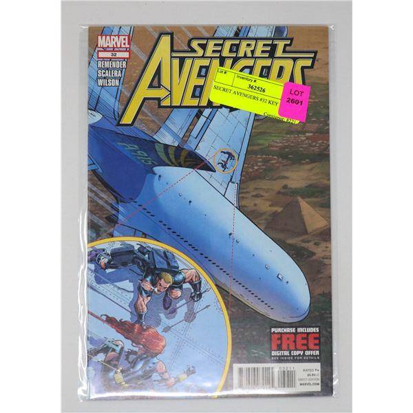 SECRET AVENGERS #32 KEY ISSUE