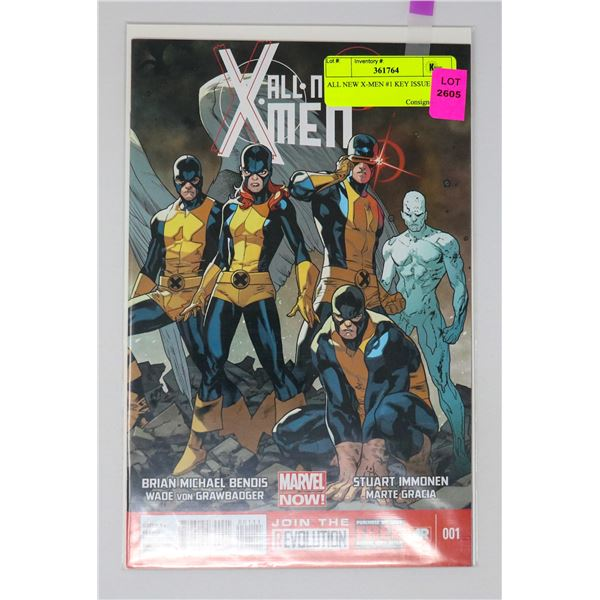 ALL NEW X-MEN #1 KEY ISSUE