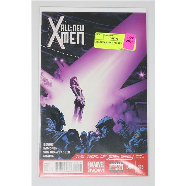 ALL NEW X-MEN #23 KEY ISSUE