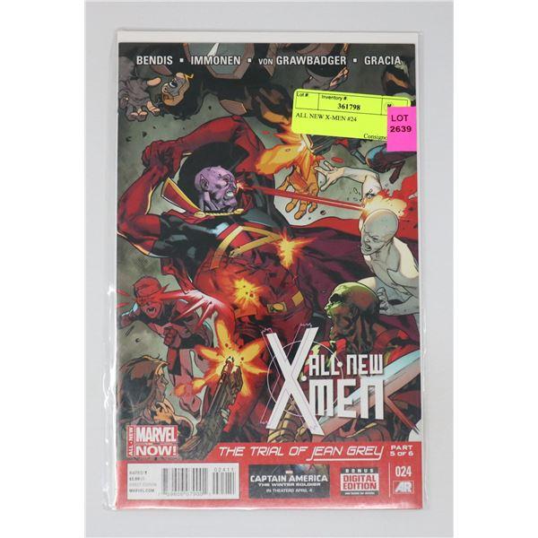 ALL NEW X-MEN #24