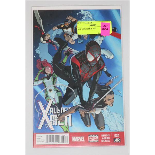 ALL NEW X-MEN #34