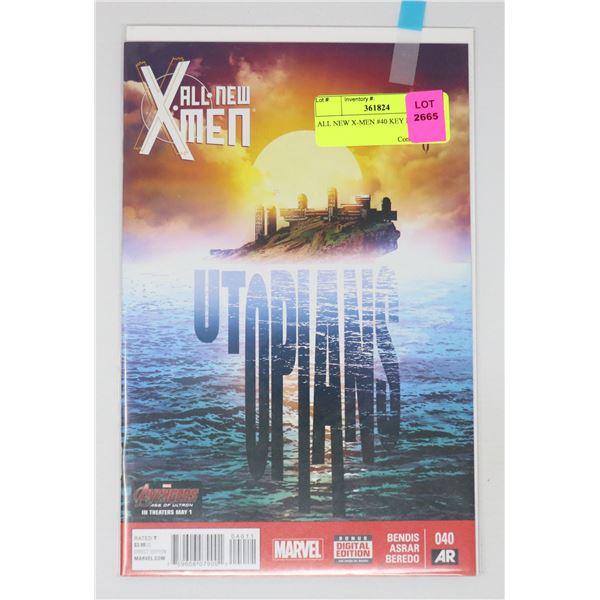 ALL NEW X-MEN #40 KEY ISSUE