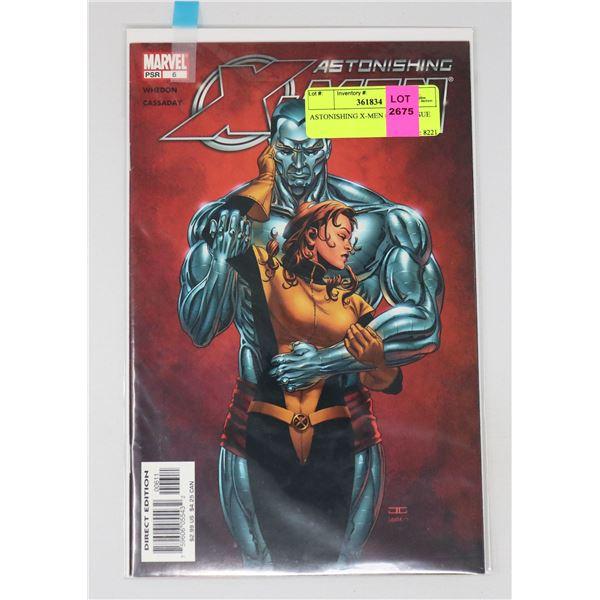 ASTONISHING X-MEN #6 KEY ISSUE