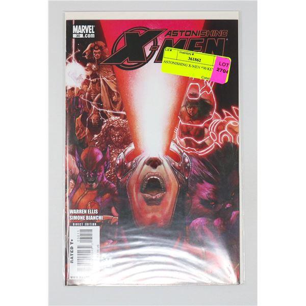 ASTONISHING X-MEN #30 KEY ISSUE